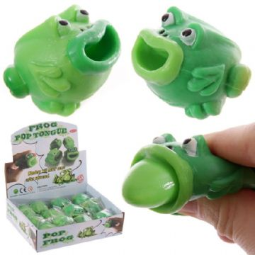 Frog Pop Tongue